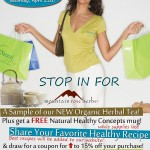 Natural Healthy Concepts Store Poster