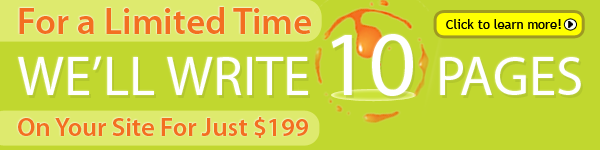 copywriting offer banner