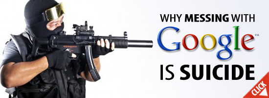 Black Hat SEO - Why Messing With Google Is Suicide