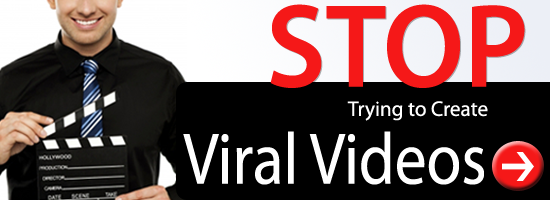 Why you should stop trying to create viral videos