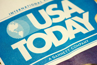 USA Today print ad contest